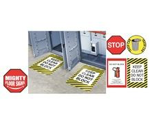 MIGHTY FLOOR SIGNS